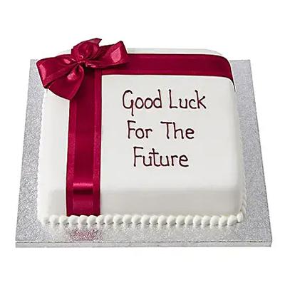 Good Luck Fondant Cake Chocolate
