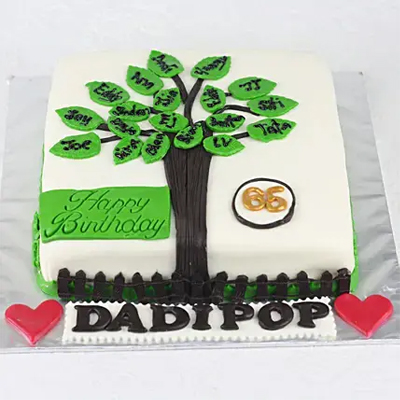 Tree Of Happiness Truffle Cake