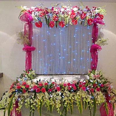 Colorful Floral Decoration