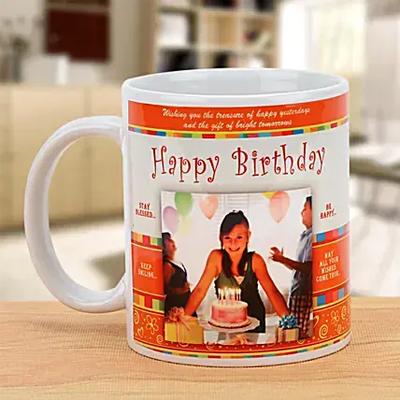 Happy Birthday Celebration Mug