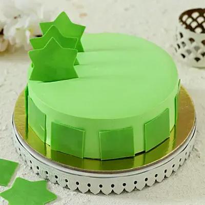 Starry Mint Cake