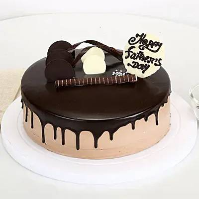 Special Chocolate Cake For Dad Half kg