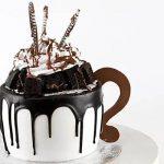 Frosty Mug Designer Chocolate Cake- 1 Kg