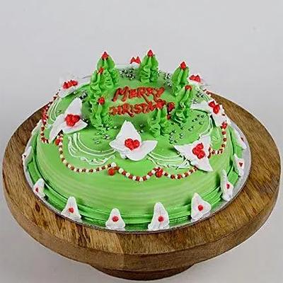 Special Christmas Chocolate Cake