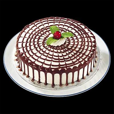 Tempting Butterscotch Cream Cake