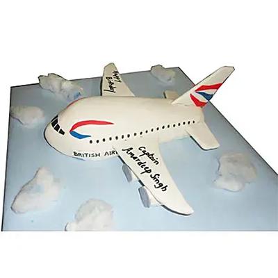 Airplane Cake Vanilla