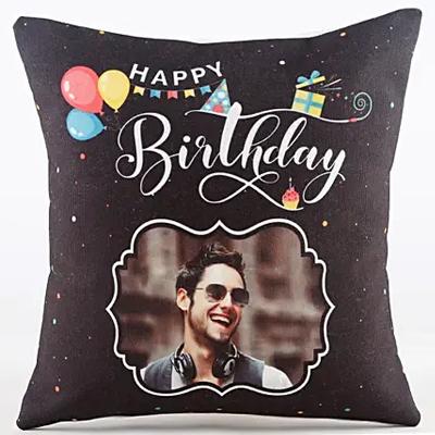 Personalised Birthday Celebration Cushion