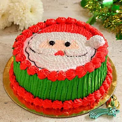 Santa Claus Black Forest Cake