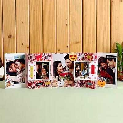 Hugs & Kisses Photo Greeting Card