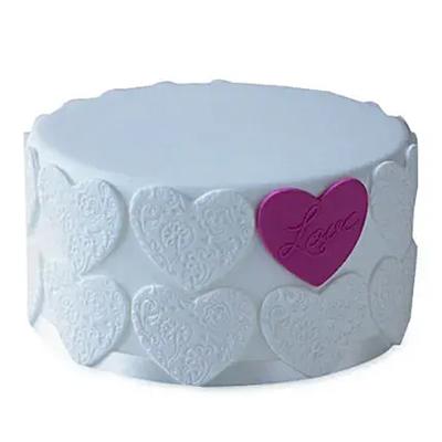 Elegant Love Cake Vanilla