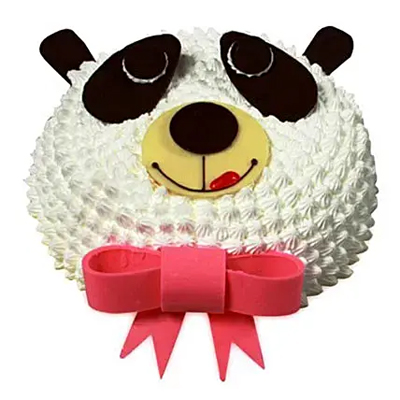 In Love With Panda Cake 2kg Vanilla
