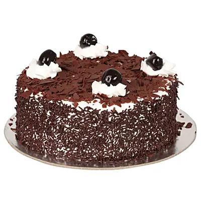 Yummy Black Forest Treat Cake