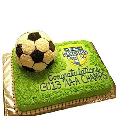 Soccer Cake Chocolate