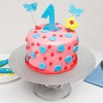 Special First Bday Vanilla Cake 1 Kg