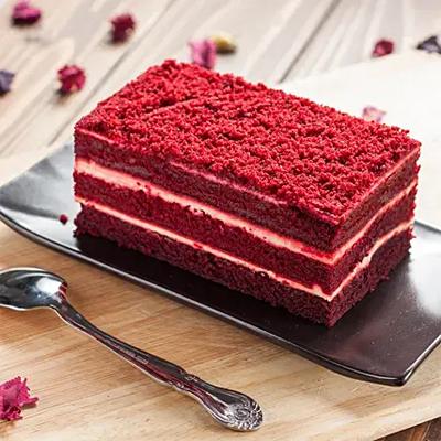 Tempting Red Velvet Pastry- 6 Pcs