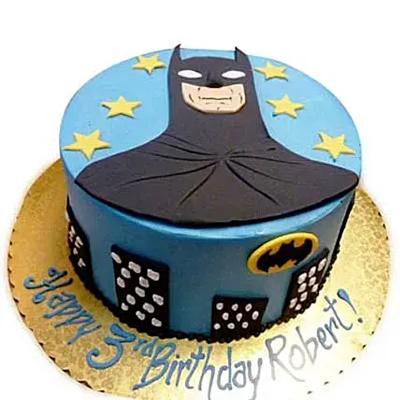 Shiny Batman With Stars Chocolate