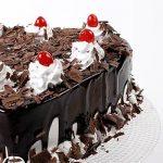 Flakey Hearts Black Forest Cake Half Kg