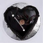 Special Floral Chocolate Cake Half kg