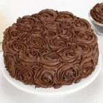 Chocolaty Rose Cake Half kg