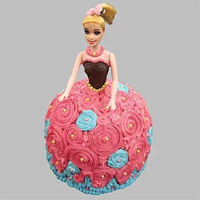 Dashing Barbie Cake Vanilla