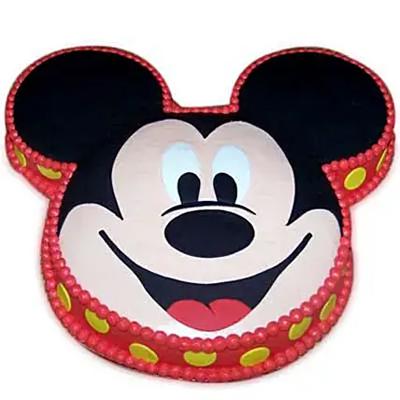 Soft Mickey Face Cake Vanilla