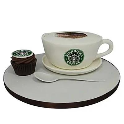 Forever Starbucks Cake