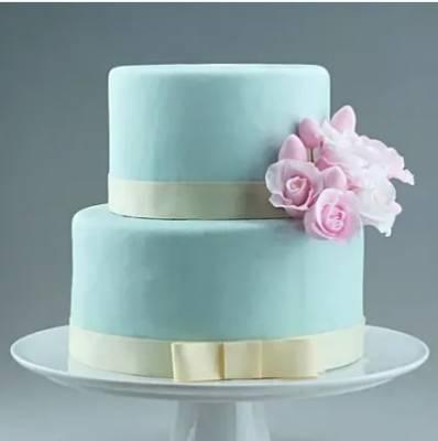 Two Tier Floral Designer Truffles Cake 3 Kg