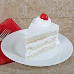 Fresh Vanilla Cake Half kg