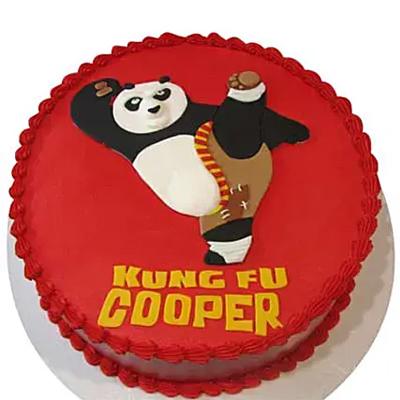 Kicking Po Cake 2Kg Chocolate