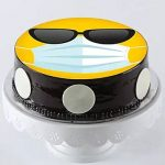Cool Mask Emoji Chocolate Cake- Half Kg