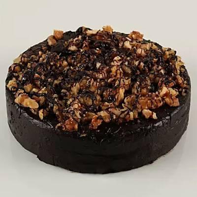 Walnut dark chocolate fit cake-500 GMS