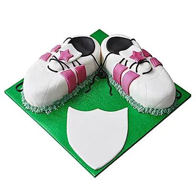 Sports Shoe Fondant Cake Chocolate