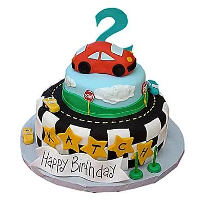 Coolest Car Cake