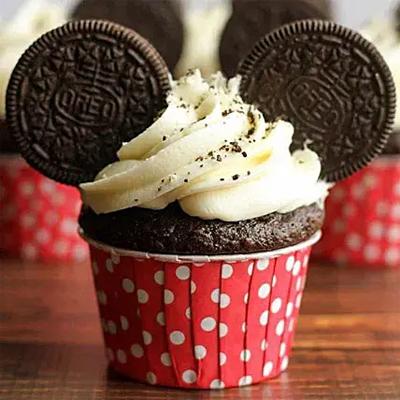 Oreo Twirling Cupcakes 6