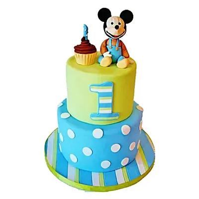Cute Cartoon Cake
