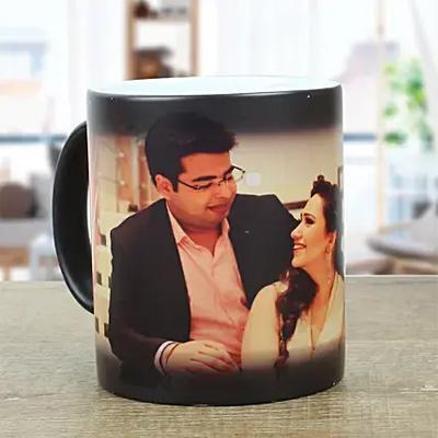 Couple Personalised Magic Mug