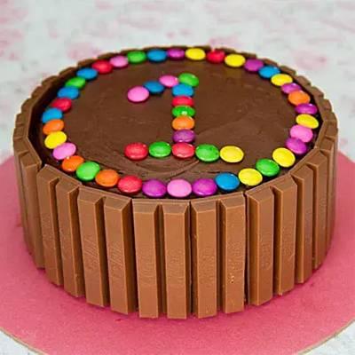Supreme Kit Kat Cake Half Kg