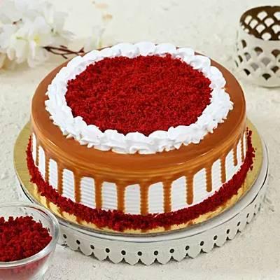 Scrumptious Red Velvet Cake- Half Kg