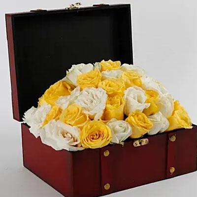 Beautiful Box Of Roses
