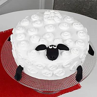Shaun The Sheep Chocolate Cake