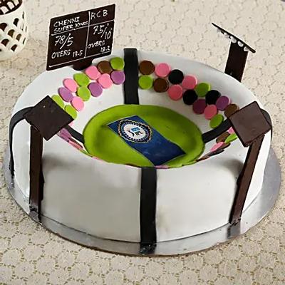 IPL Stadium Chocolate Cake