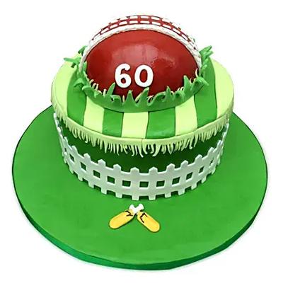 Designer Cricket Fever Cake Vanilla