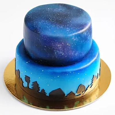 Yummylicious 2 Tier Truffle Cake