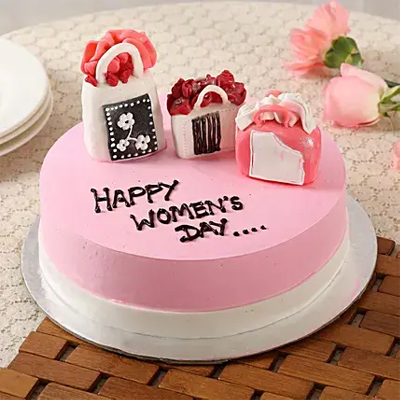 Women's Day Designer Chocolate Cake