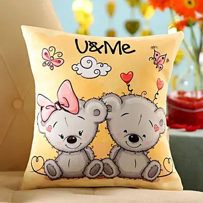 U & Me Cushion