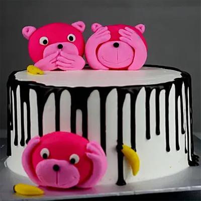 Sweet Bears Chocolate Cake