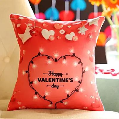 Heart Valentine's Day Cushion