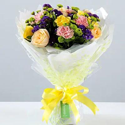 Flamboyant Rose Bouquet