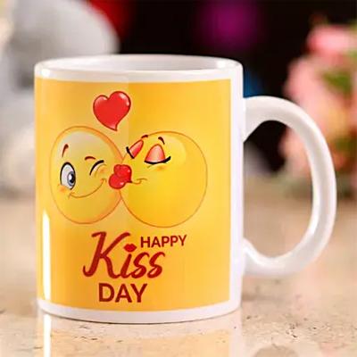 Happy Kiss Day Mug