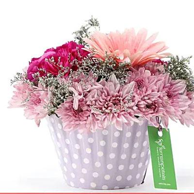 Pink & Purple Mix Flower Arrangement